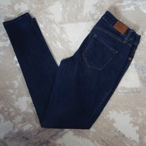 17/21 Skinny Jeans Solid Blue